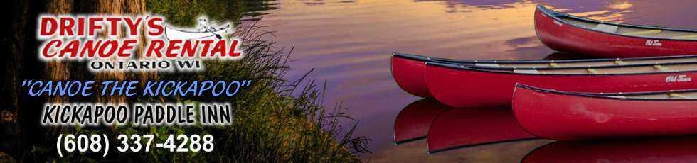 Drifty S Canoe Rental Ontario Wi Kickapoo River Kayaking